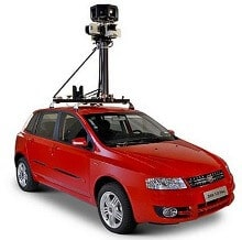 Carro do Google StreetView