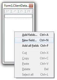 Adicionar campo ao ClientDataSet